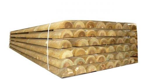 Mezza barriera 3000x120mm box cavalli box in legno per for Box per cavalli fai da te